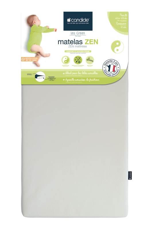 Matelas Zen déhoussable lit bébé