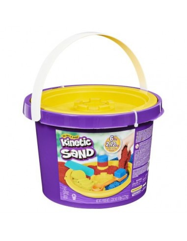Kinetic sand  3 Colour bucket with tools