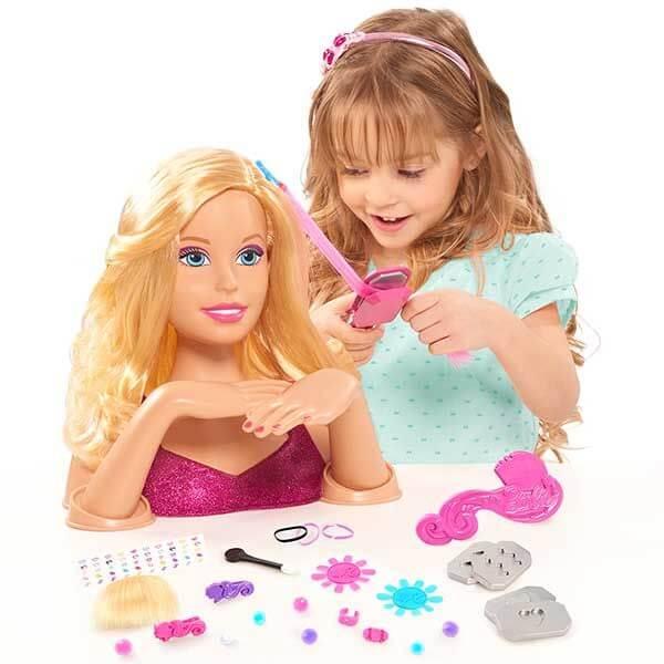 BARBIE Tête à coiffer blonde – Barbie