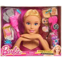 BARBIE Tête à coiffer blonde - Barbie jouet tunisie p'tit ange