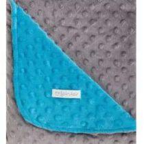 couverture pirulos bébé turquoise p'tit ange tunisie