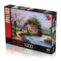 puzzle ks 1000 pcs lake house p'tit ange tunisie
