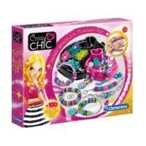 Les bracelets Clementoni Crazy Chic font 100 pièces multicolores jouet fillette p'tit ange tunisie