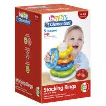 Baby Clementoni - Anneaux à empiler jouet bébé p'tit ange tunisie
