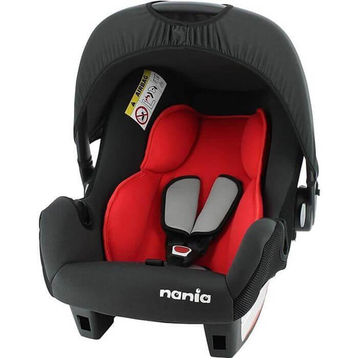 Nania Siège Auto Beone rouge Groupe 0+