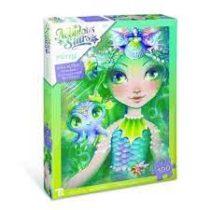 Puzzle scintillants Marinia & Octavia fillette p'tit ange puzzle tunisie