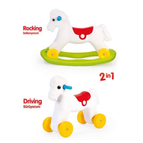 Rocking poney dolu7078