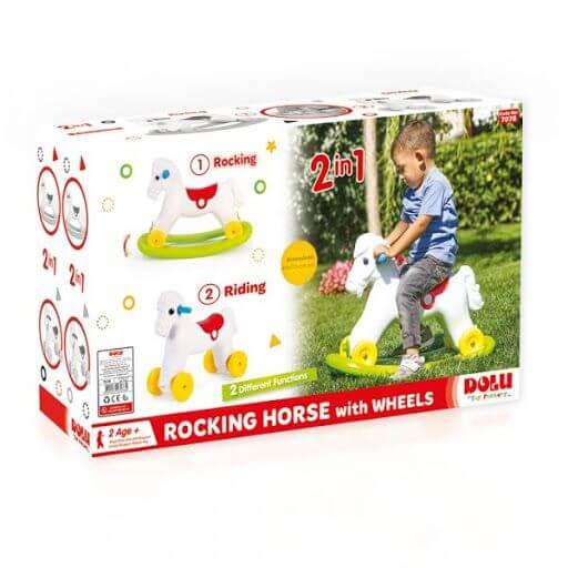 Rocking poney 2in1 DOLU7078