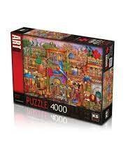 Puzzle Ks 23501 arabian street 4000 piècesjouet puzzle petit ange tunisie